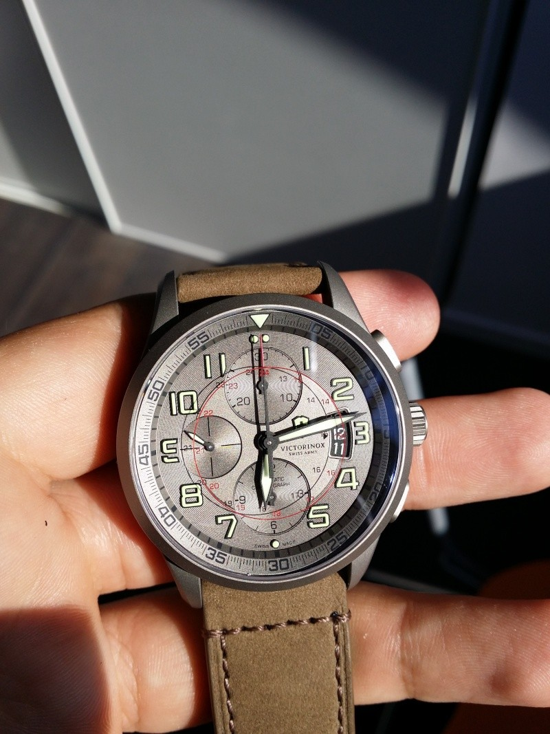 [Revue] Victorinox Airboss Chronograph Edition Limitée Titane 20140721