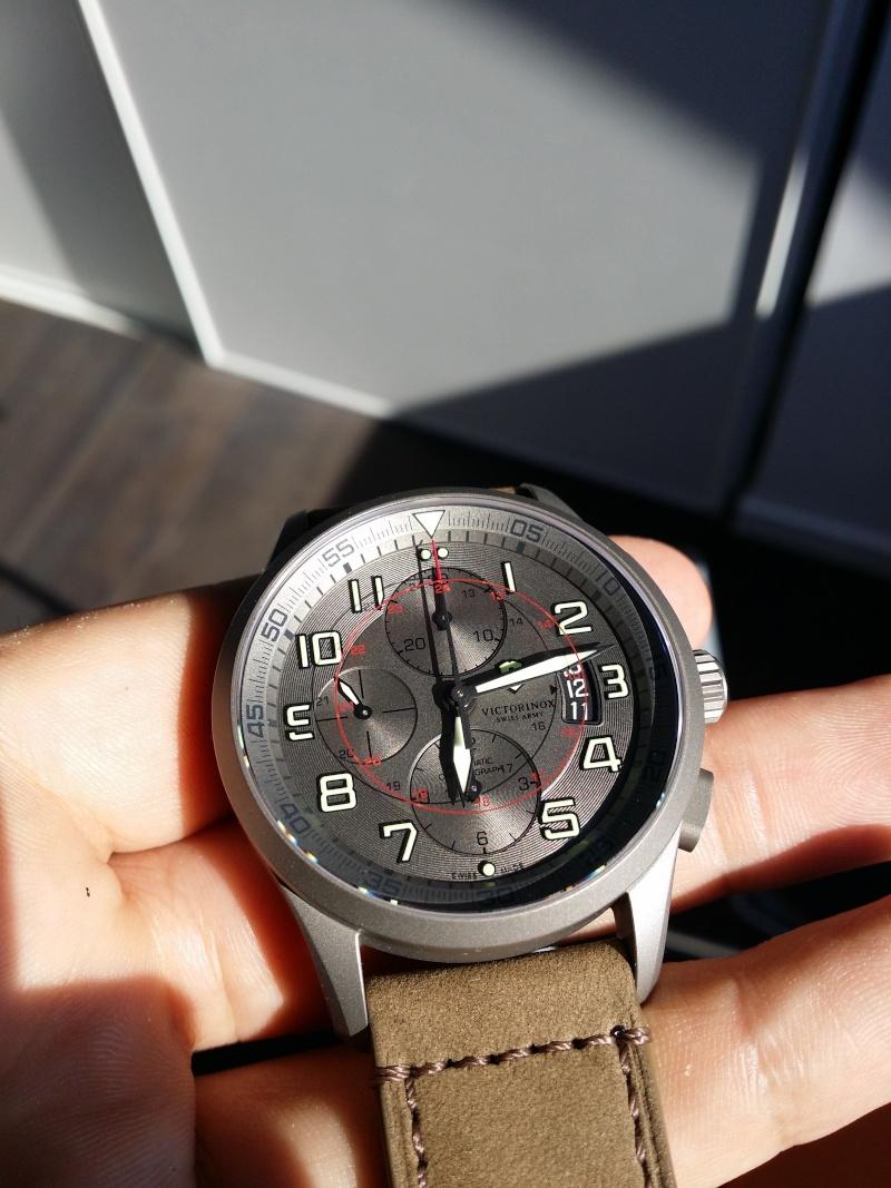 [Revue] Victorinox Airboss Chronograph Edition Limitée Titane 20140722
