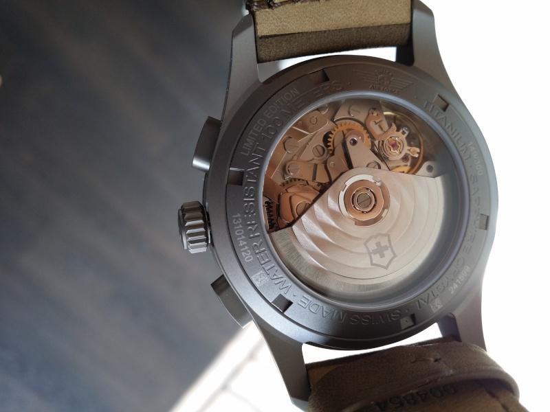 [Revue] Victorinox Airboss Chronograph Edition Limitée Titane 20140723
