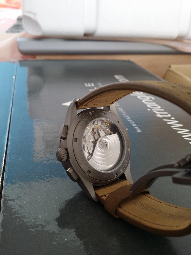 victorinox - [Revue] Victorinox Airboss Chronograph Edition Limitée Titane 20140730