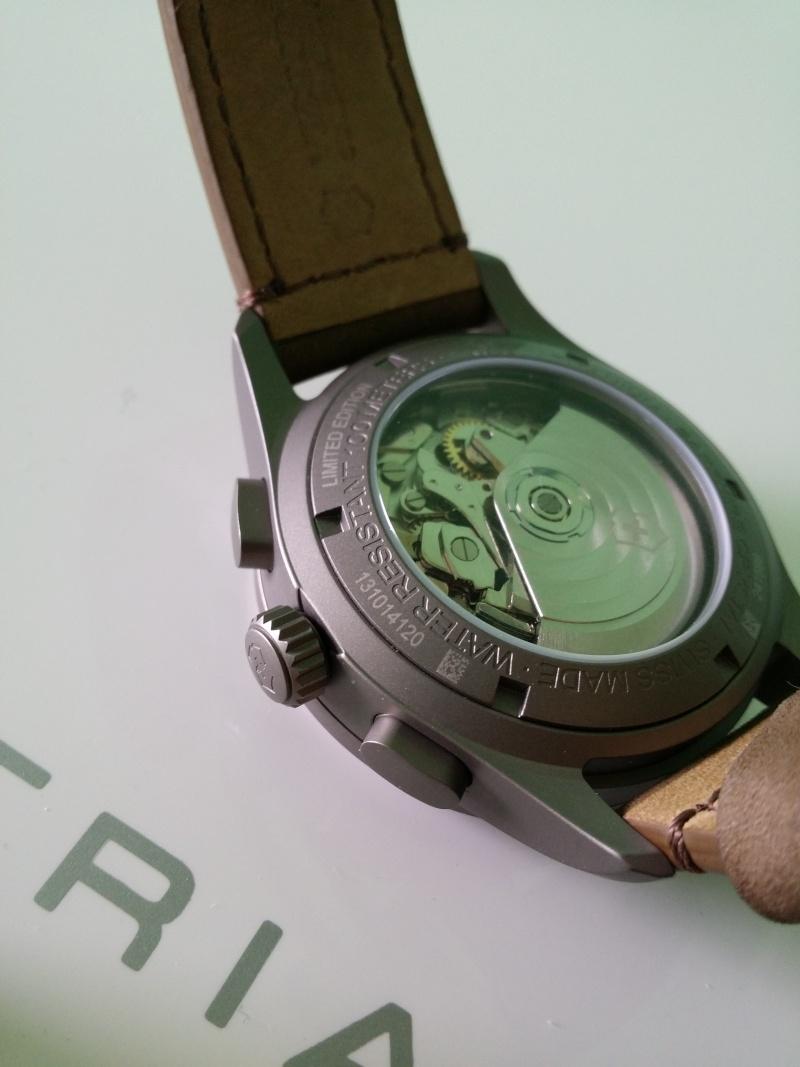 [Revue] Victorinox Airboss Chronograph Edition Limitée Titane 20140733