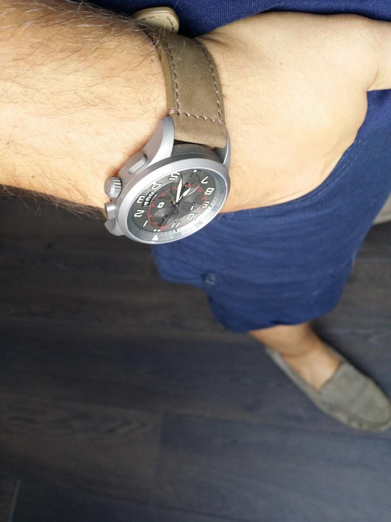 [Revue] Victorinox Airboss Chronograph Edition Limitée Titane 20140811