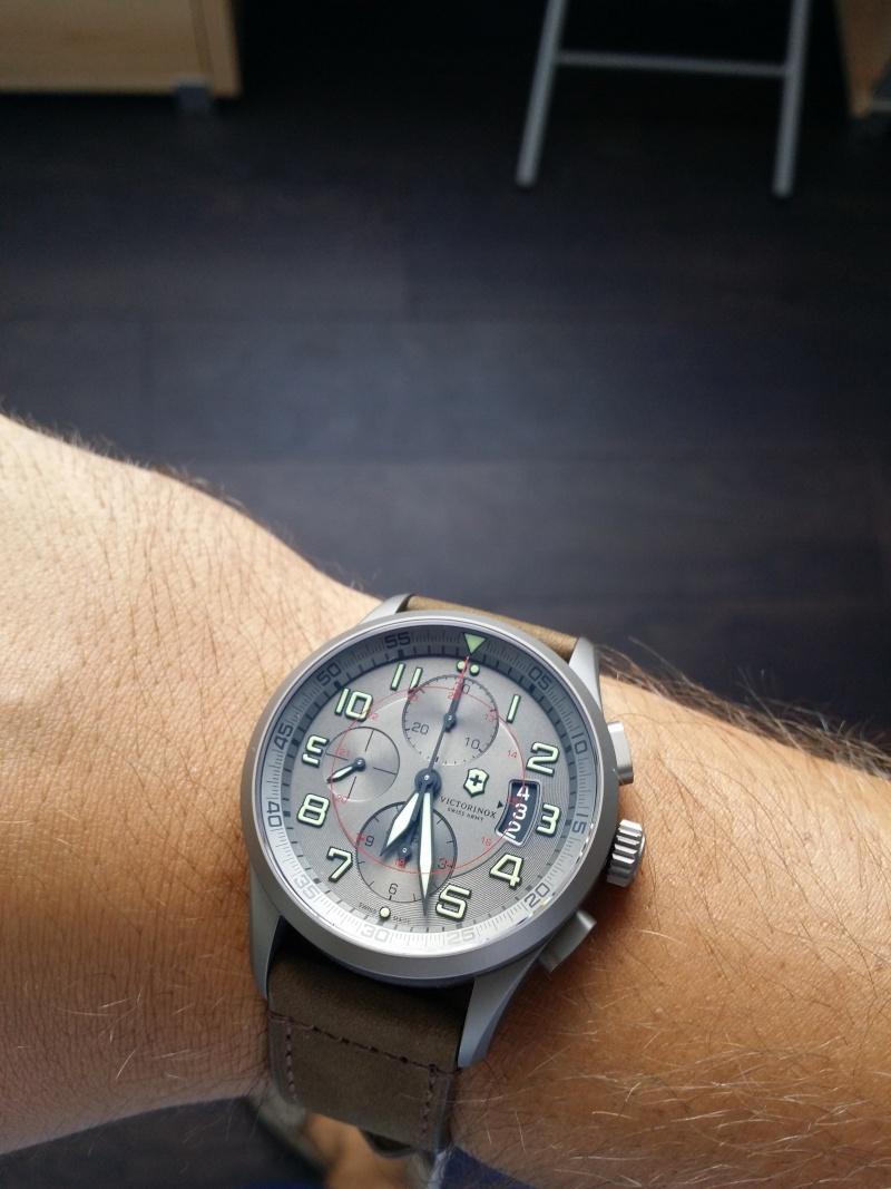 [Revue] Victorinox Airboss Chronograph Edition Limitée Titane 20140812