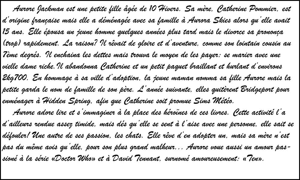Galerie d'Eoziaah - Page 2 Biogra12