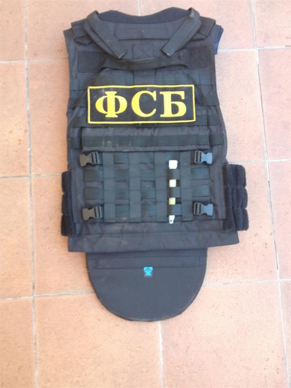 Defender 2 molle diagonal replica IRT (body armor  russo) Def10