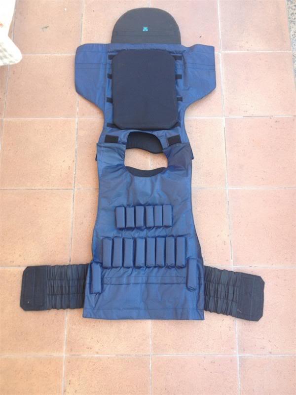 Defender 2 molle diagonal replica IRT (body armor  russo) Def110
