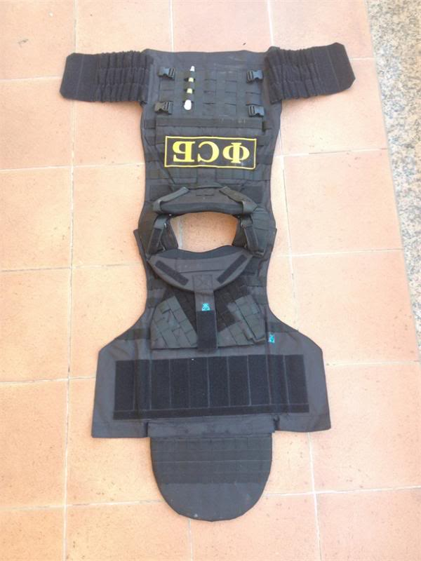 Defender 2 molle diagonal replica IRT (body armor  russo) Def210