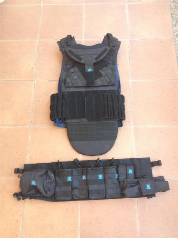 Defender 2 molle diagonal replica IRT (body armor  russo) Def_410