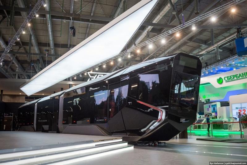 Grandes, belas fotos de Novo Eléctrico da Rússia do futuro   The-ru12