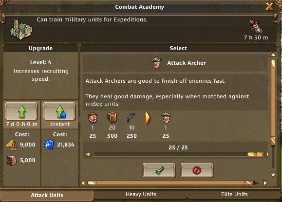 Le système de PvP Archer11