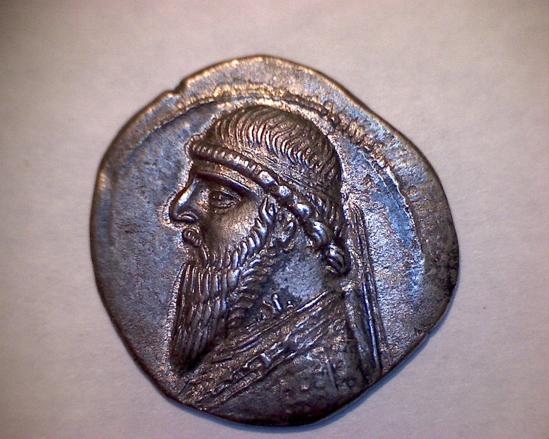 Drachme de Mithridates II Avers29