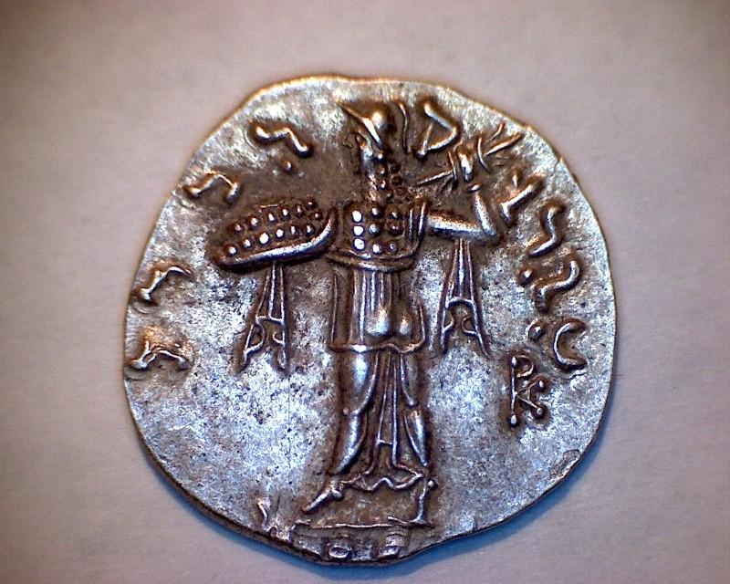 Drachme indo-grec Menandre I Soter Revers37