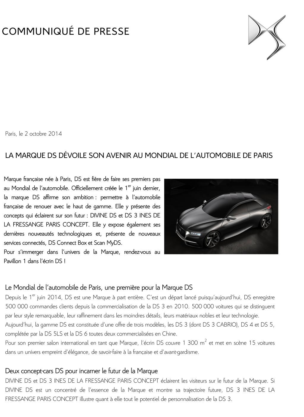 [SALON] Paris - Mondial de l'Automobile 2014 - Page 8 Cp_ds_10
