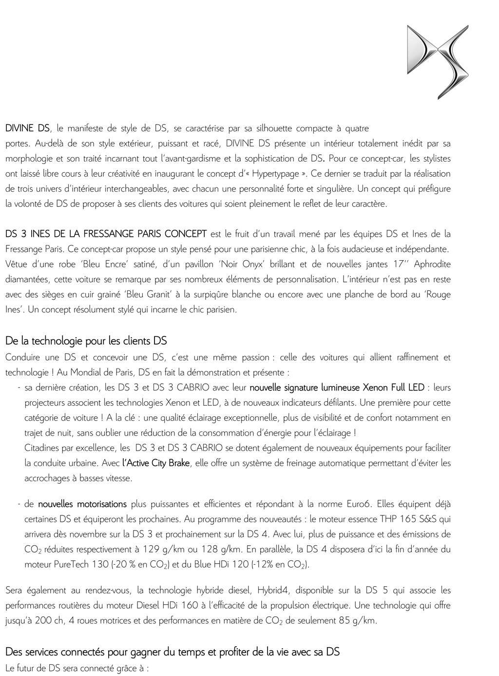 [SALON] Paris - Mondial de l'Automobile 2014 - Page 8 Cp_ds_11