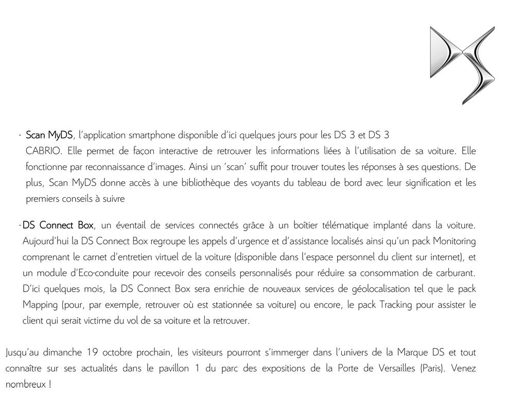 [SALON] Paris - Mondial de l'Automobile 2014 - Page 8 Cp_ds_12