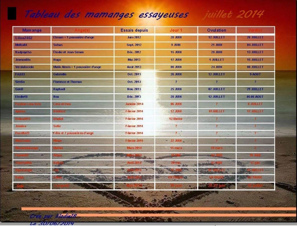 TABLEAU DES MAMANGES ESSAYEUSES JUILLET 2014 Captur28