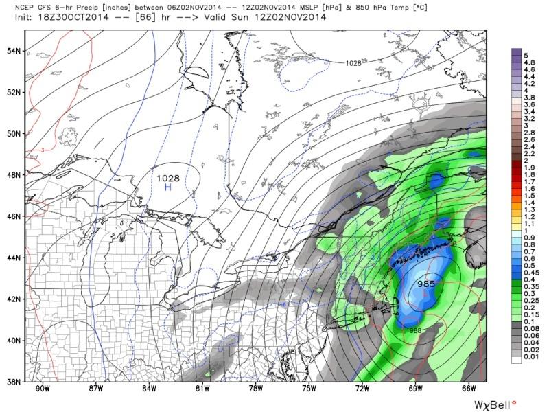 Possible November 1st Coastal Storm Thread 1 - Page 9 18z_6610