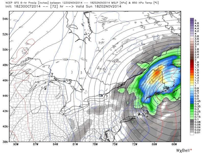 Possible November 1st Coastal Storm Thread 1 - Page 9 18z_7210