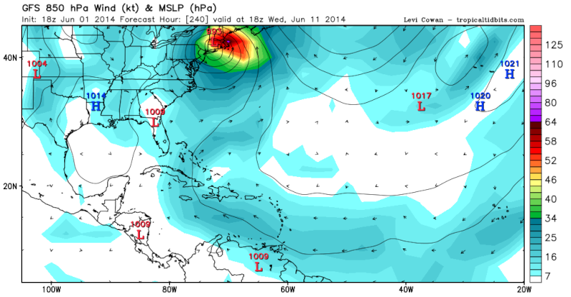 Watching June 12th-15th For Tropical Moisture  18z_gf10