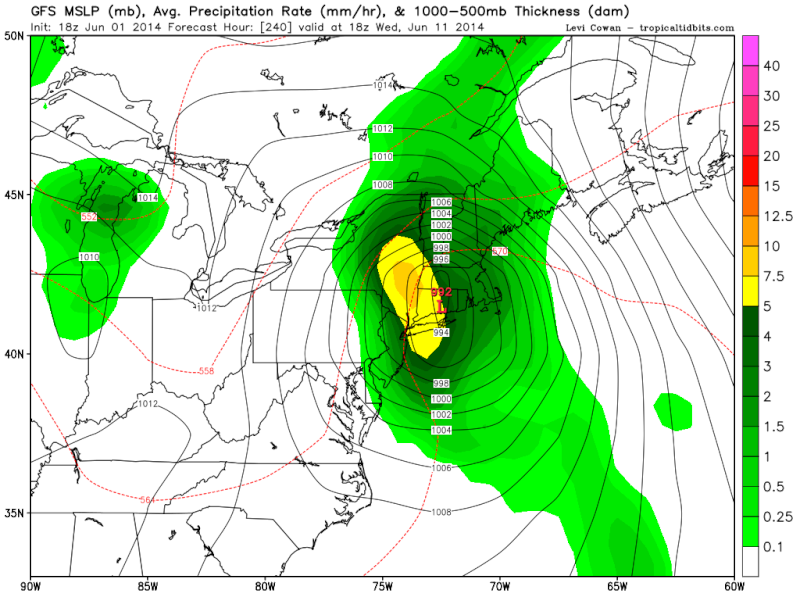 Watching June 12th-15th For Tropical Moisture  18z_gf11