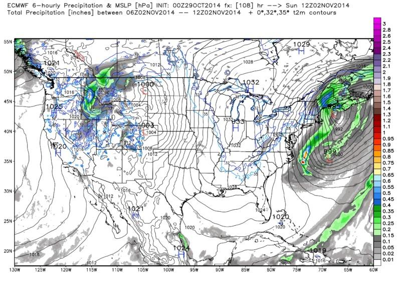 Possible November 1st Coastal Storm Thread 1 - Page 3 Euro_122