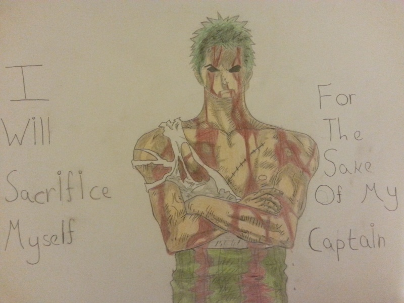 Some drawings of mine Zoro_a10