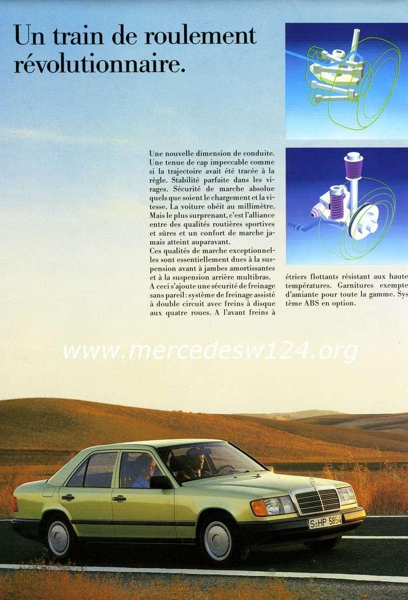La nouvelle gamme moyenne Mercedes-Benz 200 D à 300 E 1010