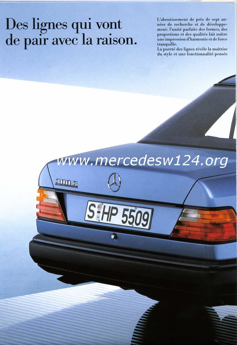 La nouvelle gamme moyenne Mercedes-Benz 200 D à 300 E 1110