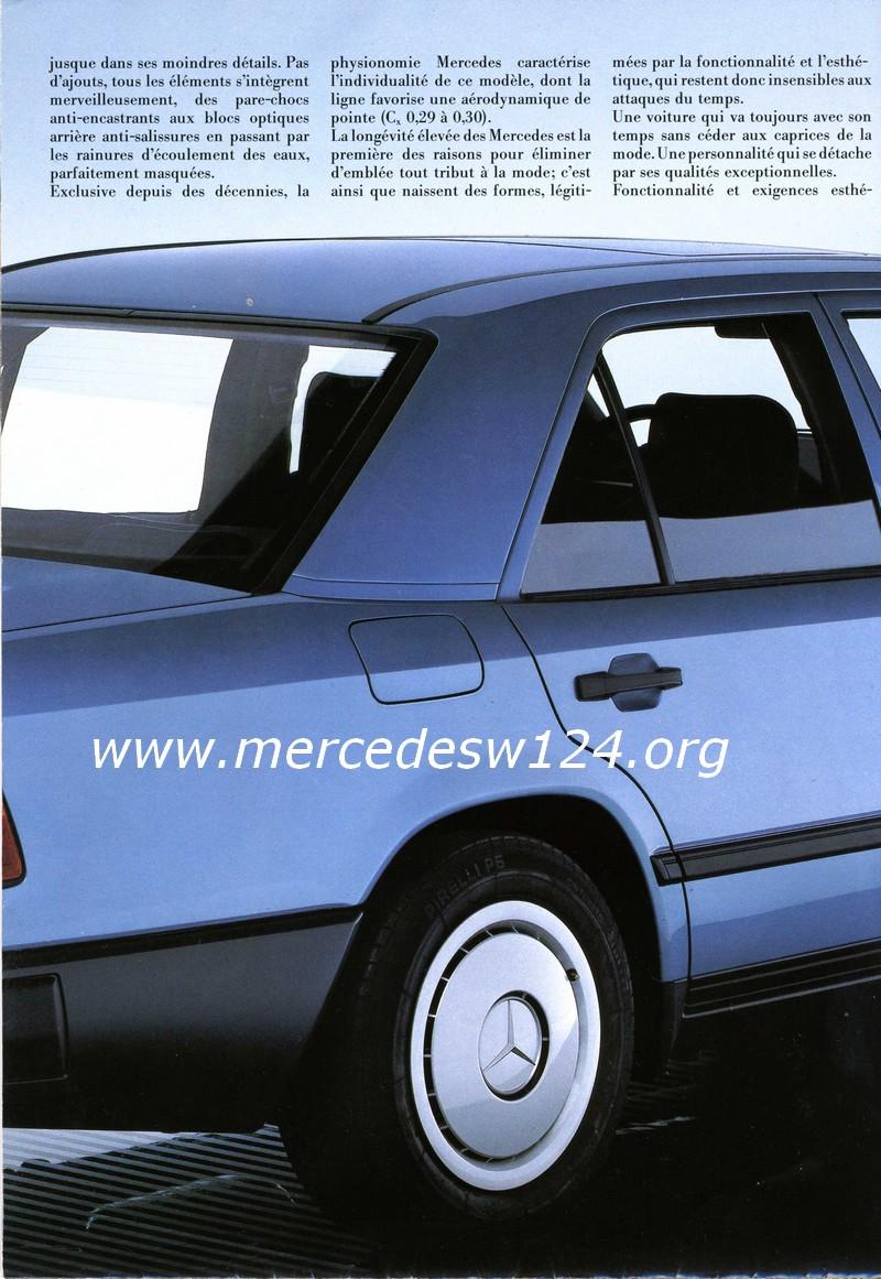 La nouvelle gamme moyenne Mercedes-Benz 200 D à 300 E 1210