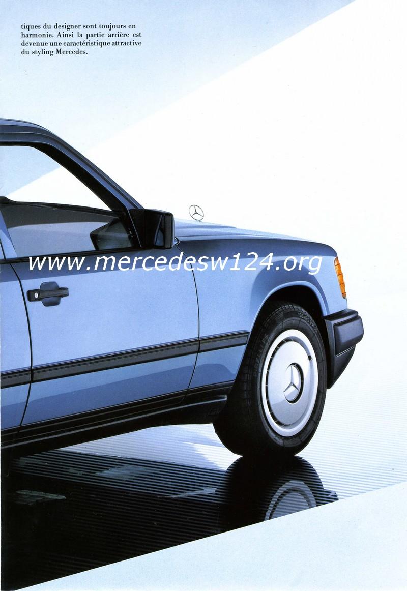 La nouvelle gamme moyenne Mercedes-Benz 200 D à 300 E 1310