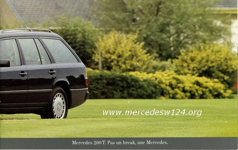 Mercedes Break pour ceux qui ont horreur des breaks 222
