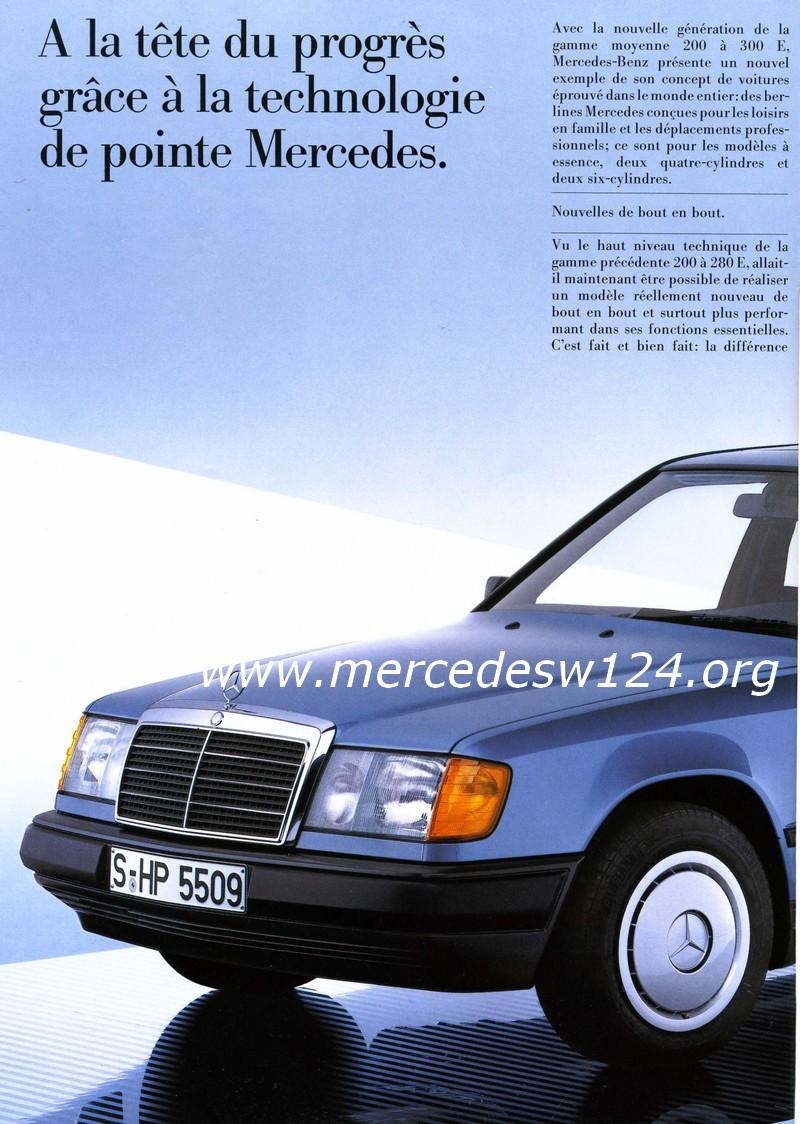 La nouvelle gamme moyenne Mercedes-Benz 200 D à 300 E 223
