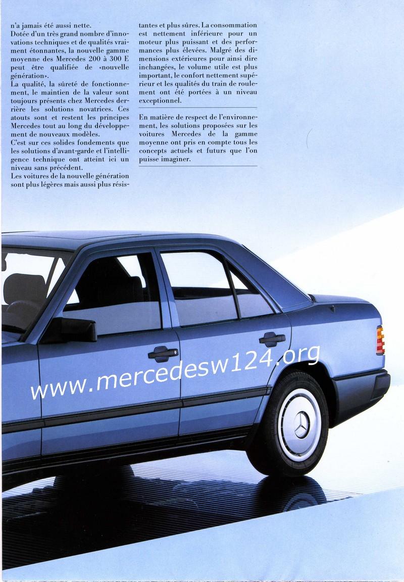 La nouvelle gamme moyenne Mercedes-Benz 200 D à 300 E 318