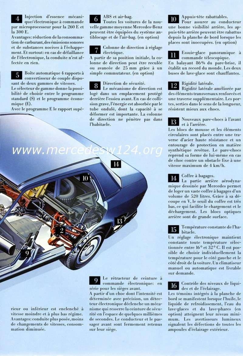 La nouvelle gamme moyenne Mercedes-Benz 200 D à 300 E 512