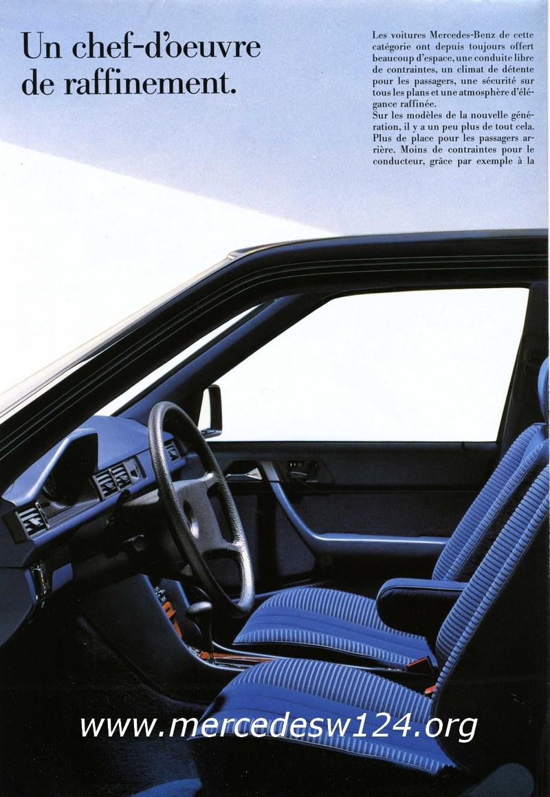La nouvelle gamme moyenne Mercedes-Benz 200 D à 300 E 610