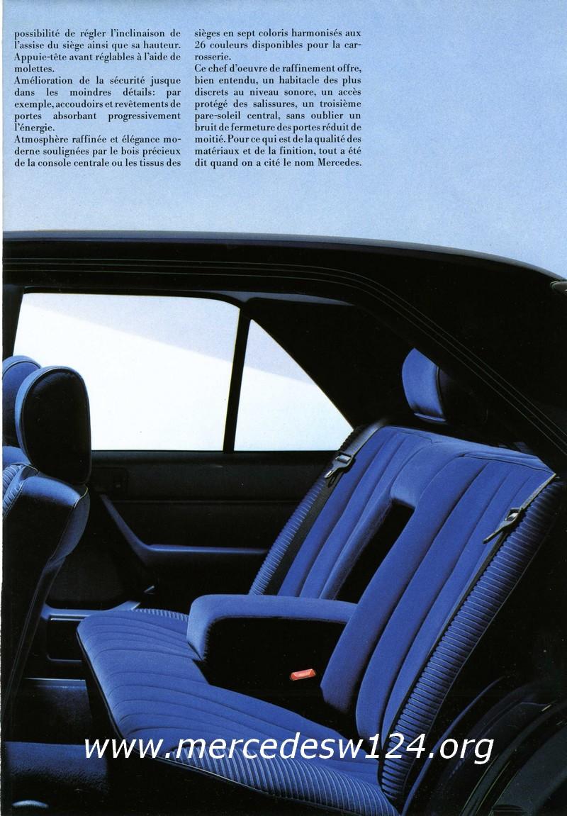 La nouvelle gamme moyenne Mercedes-Benz 200 D à 300 E 710