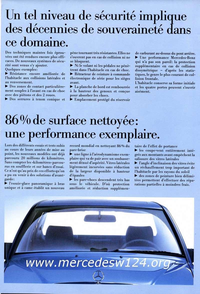La nouvelle gamme moyenne Mercedes-Benz 200 D à 300 E 810