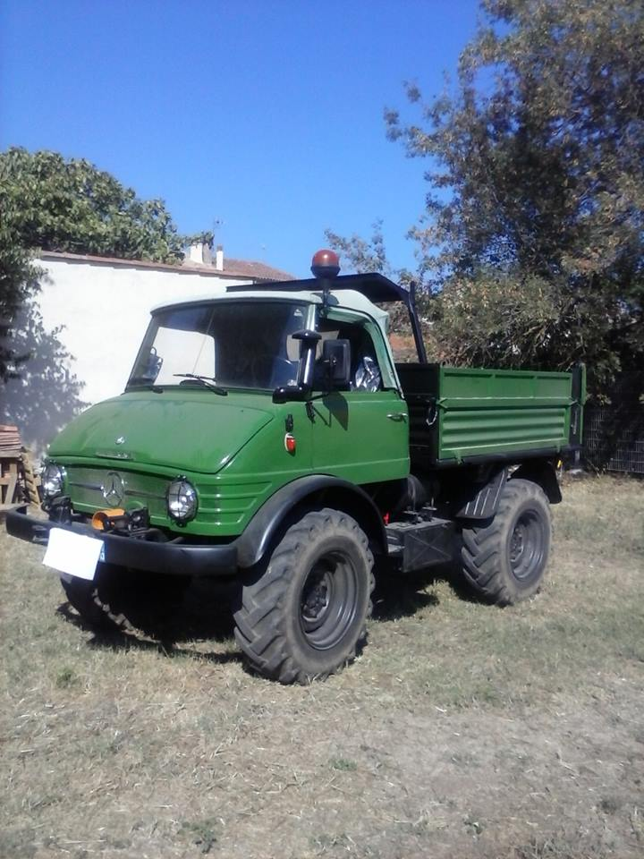 restauration unimog 406 de 1964 Uni40610