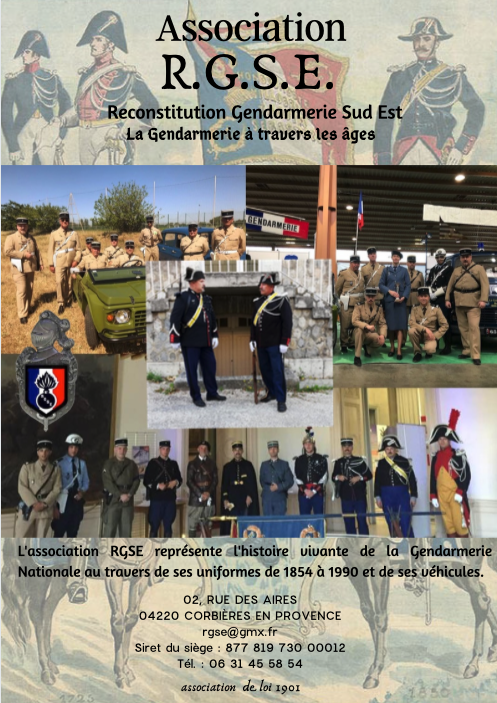 ASSOCIATION RECONSTITUTION GENDARMERIE SUD EST Affich11