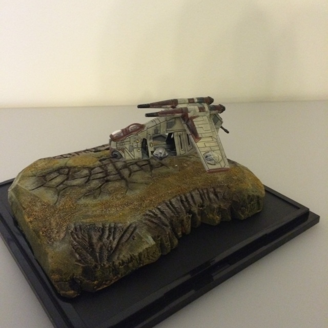 REPUBLIC GUNSHIP : Projet diorama. Img_1017