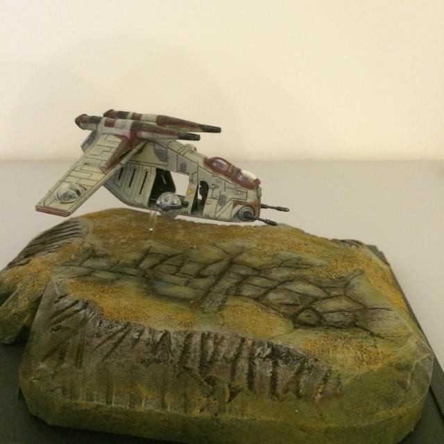REPUBLIC GUNSHIP : Projet diorama. Img_1020