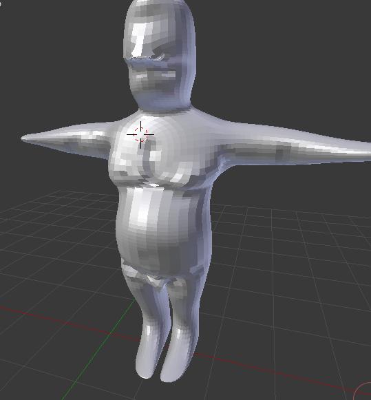 Création d'un personnage en 3D Vuefac10