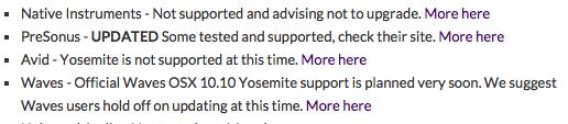 YOSEMITE COMPATIBILITY Captur20