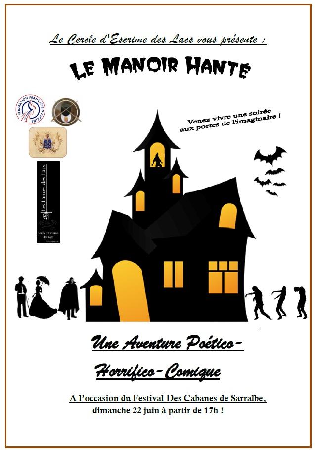 """Spectacle """"Le Manoir Hanté"""" Mh11"""