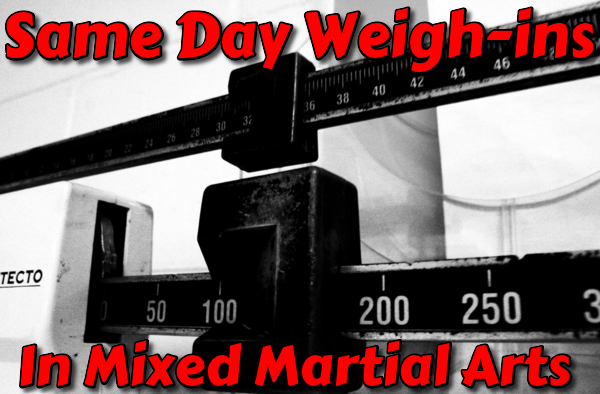 The Evolution of MMA and Same Day Weigh-ins  Same_d10