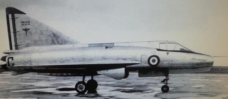 Sud-Aviation S.E. 212 DURANDAL , kit JFR Team au 1/72 C_phot10