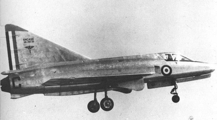 Sud-Aviation S.E. 212 DURANDAL , kit JFR Team au 1/72 C_phot11