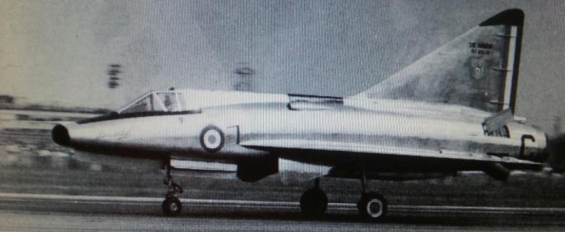 Sud-Aviation S.E. 212 DURANDAL , kit JFR Team au 1/72 C_phot14