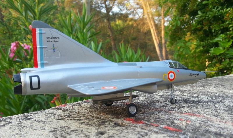 Sud-Aviation S.E. 212 DURANDAL , kit JFR Team au 1/72 Img_2033