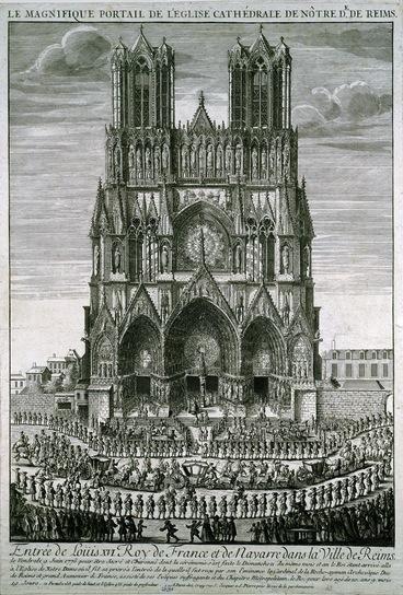 Le couronnement et le sacre de Louis XVI 13063010